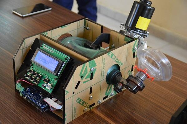 نمونه آزمایشگاهی دستگاه تنفس مصنوعی در دانشگاه شهید چمران اهواز ساخته شد