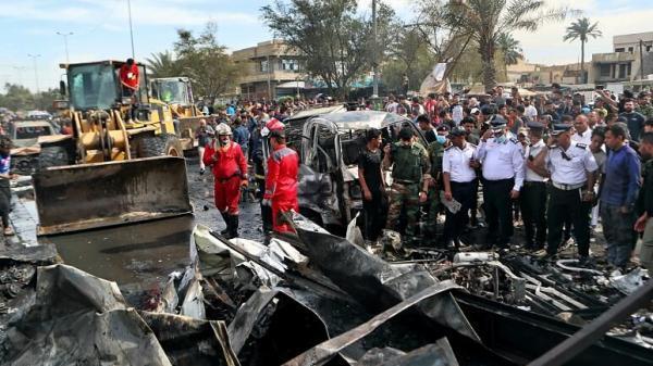 خبرنگاران داعش مسوولیت انفجار دیروز بغداد را برعهده گرفت
