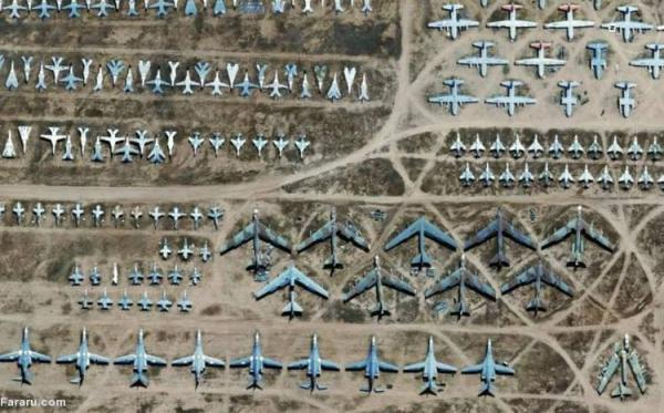 (ویدئو) قبرستان هواپیماها در اوکراین