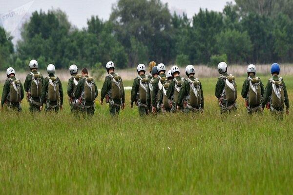 800 چترباز نظامی آمریکا در نزدیکی مرزهای روسیه فرود آمدند