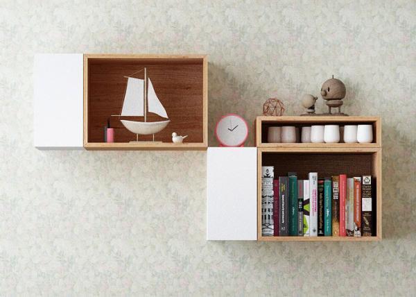 استفاده از شلف و باکس دیواری در دکوراسیون منزل و محل کار