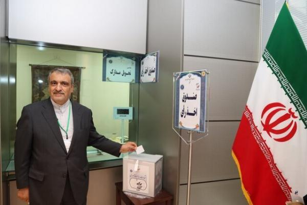 انتها رأی گیری در ژاپن، تقدیر سفیر کشورمان از ایرانیان مقیم