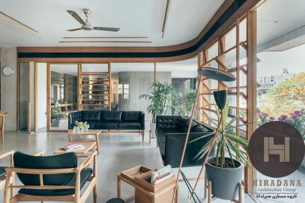 طراحی داخلی دفتر نست در هند