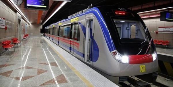 ایستگاه متروی شهید رضایی آماده بهره برداری شد