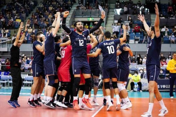 همگروه های تیم ملی والیبال ایران در مسابقات جهانی تعیین شدند